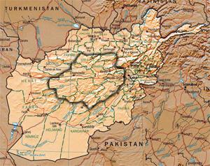 Hazarajat Map