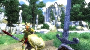 oblivion screenshot elven ruin
