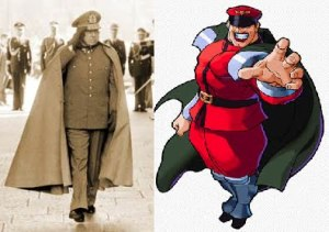 Pinochet and M. Bison