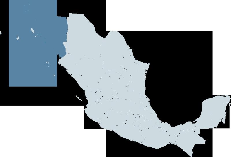 republic of sonora map
