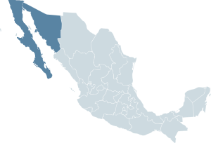 Republic of Sonora map